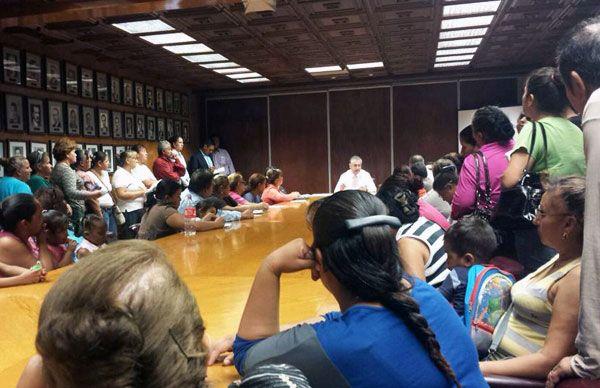 Antorchistas logran compromisos de obras y servicios en Cd. Juárez