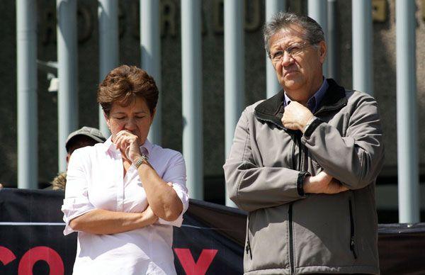 Manifestación en la SEIDO, exigen justica en el caso Manuel Serrano