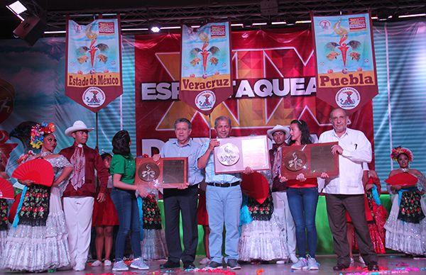 Veracruz 2do.Lugar nacional dentro de la XIX Espartaqueada Deportiva