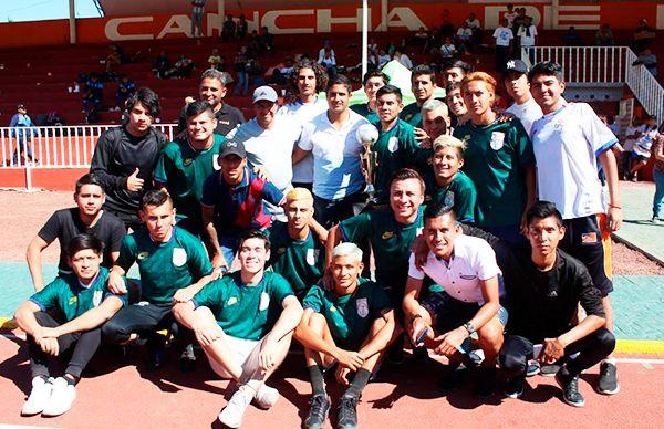 Tamaulipas, tercer lugar nacional en futbol de la Espartaqueada