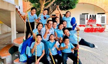 Estará el Plenito Infantil de Tecomatlán en la clausura de la Espartaqueada