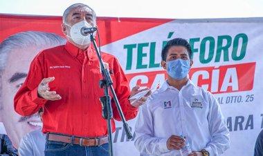 Somos la opción que garantiza resultados: Telésforo García