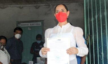 Araceli García Carrión es presidenta electa de Tecomatlán