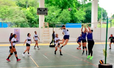 Triunfa selectivo antorchista de voleibol en Chiapas