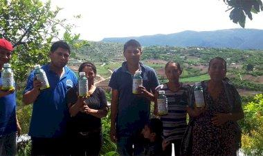 Reciben herbicidas pequeños productores de maíz de La Mohonera