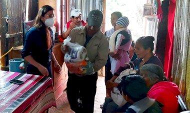 Antorcha continúa activismo en Valles Centrales