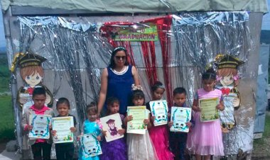 Escuelas antorchistas clausuran ciclo escolar en Guanajuato