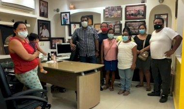Positiva reunión entre alcalde y antorchistas de Ometepec