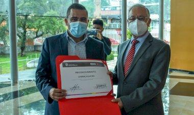 INAFED reconoce a Chimalhuacán por políticas públicas