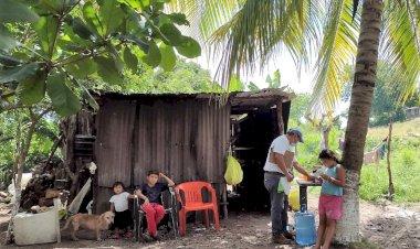 50.5% la población de Campeche en pobreza