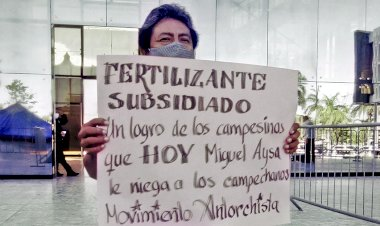 Ignorados por Aysa antorchistaslevantan plantón en Campeche