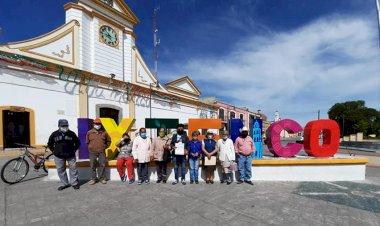 Campesinos entregan pliego petitorio en Ixtenco, Tlaxcala