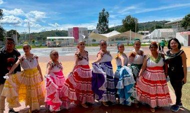 Antorchistas celebran tarde mexicana en Ixtapaluca