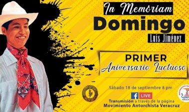 Realizarán grupos culturales homenaje a Domingo Luis