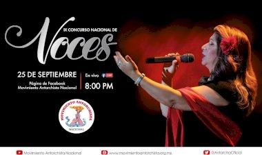 Antorcha realizará IX Concurso Nacional de Voces el 25 de septiembre