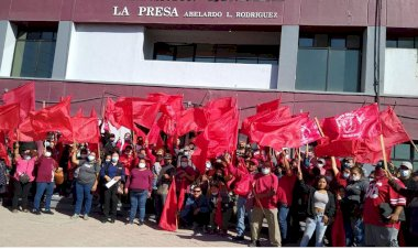 Luchan antorchistas de Baja California por mejorar sus condiciones
