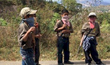 Niños y adolescentes orillados al crimen organizado