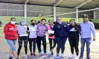 Finaliza liga antorchista de voleibol