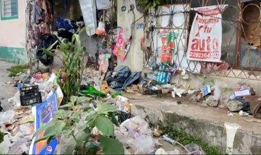 Vecino de calle Jalisco, en Xalapa vive entre basura, urgen a la autoridad hacer algo al respecto