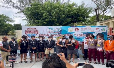 Triunfan Terrablanquenses en festival nacional de voleibol de playa
