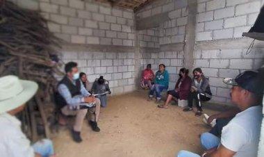 Proyecto de Antorcha avanza en la Mixteca Oaxaqueña