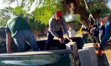 Antorchistas agradecen por apoyos en Mexquitic