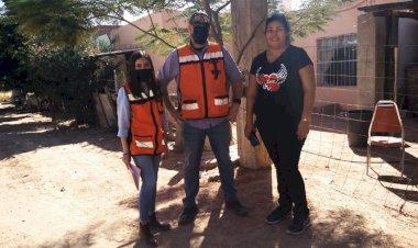 Revisan condiciones de calle Bacanora, en colonia Eusebio Kino