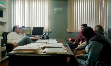 Recibe SADER a comisión del Movimiento Antorchista en Tlaxcala