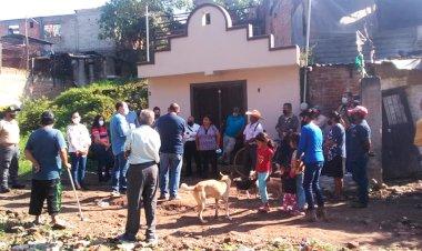 Constatan autoridades de Tuxpan vulnerabilidad de vecinos